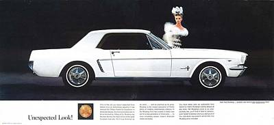 Photograph - 1964 Ford Mustang-02-03 by R Muirhead Art