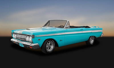 Photograph - 1964 Mercury Comet Caliente Convertible  -  1964mercal028 by Frank J Benz