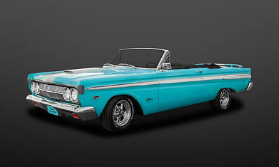 Photograph - 1964 Mercury Comet Caliente Convertible   -   64mercom039 by Frank J Benz