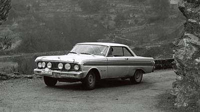 Transportation Digital Art - 1964 Monte Carlo Rally by Maye Loeser