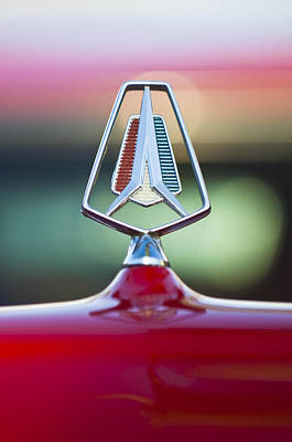 Photograph - 1964 Plymouth Hood Ornament by Jill Reger