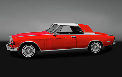 Photograph - 1964 Studebaker Gt Hawk Gran Turismo    -   1964gtstudebakergry170706 by Frank J Benz