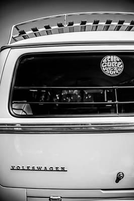 Photograph - 1964 Volkswagen Vw -0312bw by Jill Reger