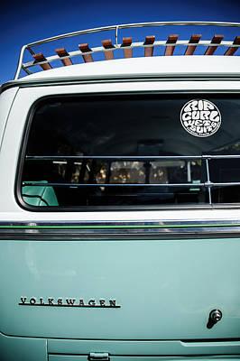 Photograph - 1964 Volkswagen Vw Bus -0312c by Jill Reger