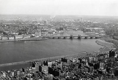 Photograph - 1965 Boston, Cambridge And Charles River by Historic Image