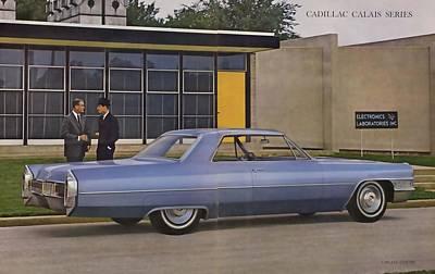 Photograph - 1965 Cadillac De Ville Calais by R Muirhead Art