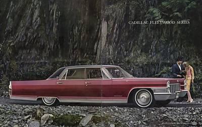 Photograph - 1965 Cadillac De Ville by R Muirhead Art