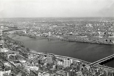 Photograph - 1965 Cambridge And Boston Panorama by Historic Image