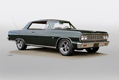 Book Quotes - 1965 Chevelle Malibu SS427 by Dave Koontz