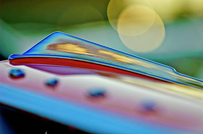 Photograph - 1965 Chevrolet Hood Ornament by Jill Reger