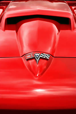 Photograph - 1965 Chevy Corvette Hood Scoop by Gordon Dean II