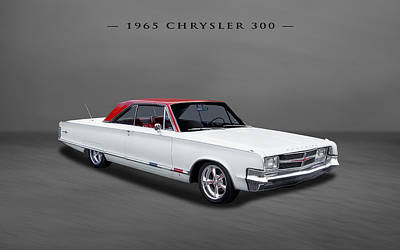 Photograph - 1965 Chrysler 300 2-door Hardtop by Frank J Benz