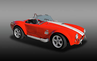 Photograph - 1965 Cobra Powered By A 427 Ford by Frank J Benz