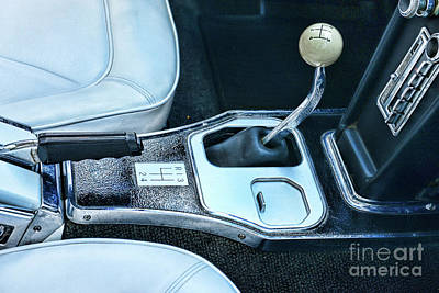 Photograph - 1965 Corvette Hurst Shifter by Paul Ward