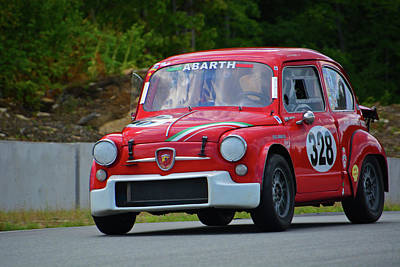 Photograph - 1965 Fiat Abarth by Mike Martin