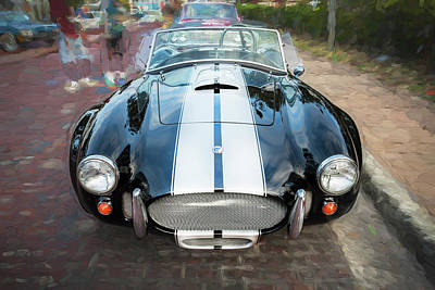 Photograph - 1965 Ford Ac Cobra Painted    by Rich Franco