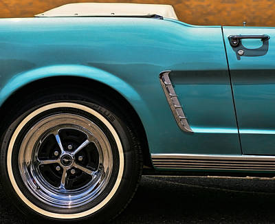 Photograph - 1965 Ford Mustang Convertible by Gordon Dean II