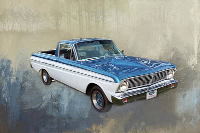 Photograph - 1965 Ford Ranchero by Donna Kennedy