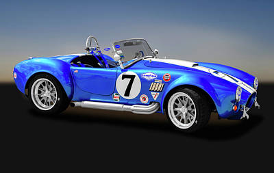 Photograph - 1965 Ford Shelby Cobra  -  1965fordshelbycobra170950 by Frank J Benz