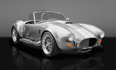 Photograph - 1965 Shelby Cobra - 427 Ford Power by Frank J Benz