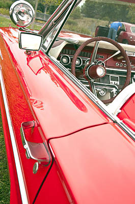Photograph - 1965 Ford Thunderbird Dash by Glenn Gordon