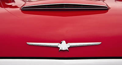 Photograph - 1965 Ford Thunderbird Emblem by Glenn Gordon