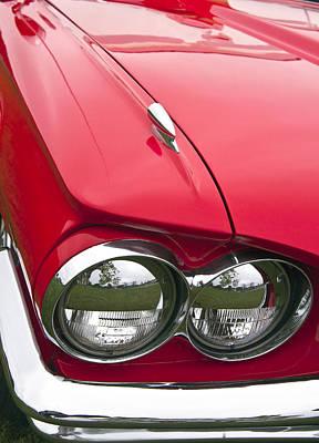 Photograph - 1965 Ford Thunderbird Headlight by Glenn Gordon