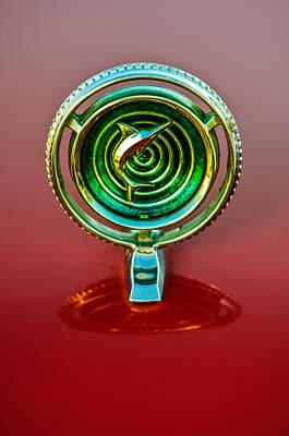 Photograph - 1965 Marlin Rambler Hood Ornament by Jill Reger