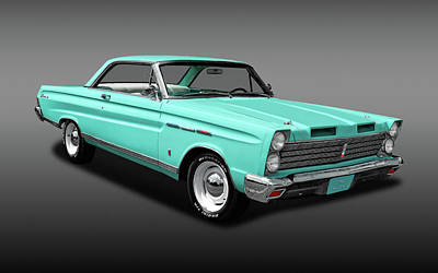 Photograph - 1965 Mercury Comet Caliente  -  1965merccometcalifa3444 by Frank J Benz