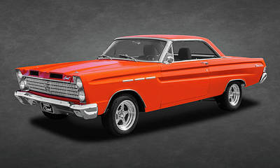 Photograph - 1965 Mercury Comet Caliente  -  65mercurycomettexture173387 by Frank J Benz