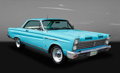 Street Rod Photograph - 1965 Mercury Comet by Frank J Benz