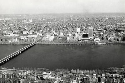 Photograph - 1965 Mit Cambridge And Boston's Back Bay by Historic Image