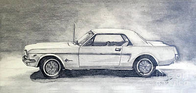 American Muscle Car Drawings Page 2 Of 2 Fine Art America