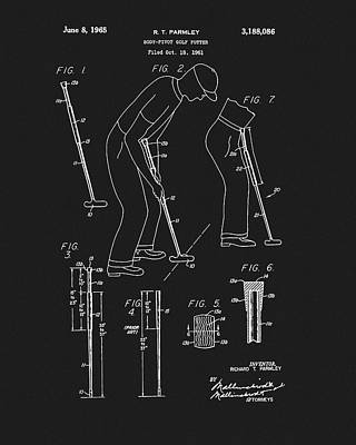 Drawing - 1965 Pivot Golf Putter by Dan Sproul