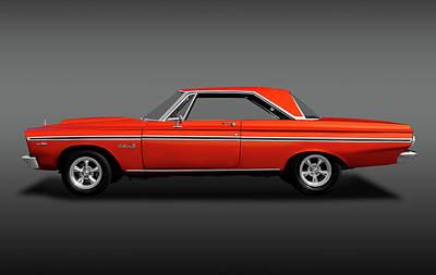 Photograph - 1965 Plymouth Belvedere II Hardtop  -  1965plybelvedereiifa170914 by Frank J Benz