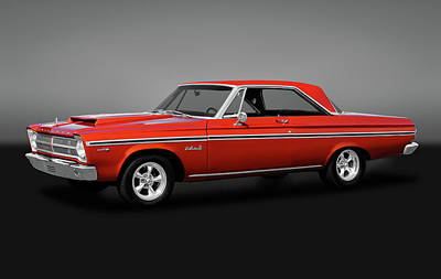 Photograph - 1965 Plymouth Belvedere II Hardtop   -   1965plybelvedereiigry170926 by Frank J Benz