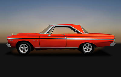 Photograph - 1965 Plymouth Belvedere II Hardtop  -  1965plymouthbelvedere170914 by Frank J Benz