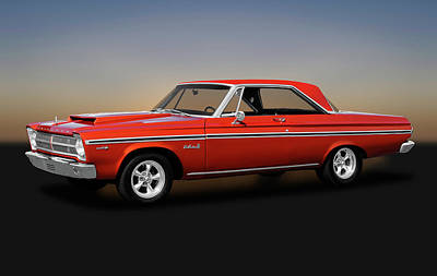 Photograph - 1965 Plymouth Belvedere II Hardtop  -  1965plymouthbelvedere170926 by Frank J Benz