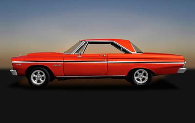 Photograph - 1965 Plymouth Belvedere II Hardtop  -  1965plymouthbelvedereii170914 by Frank J Benz
