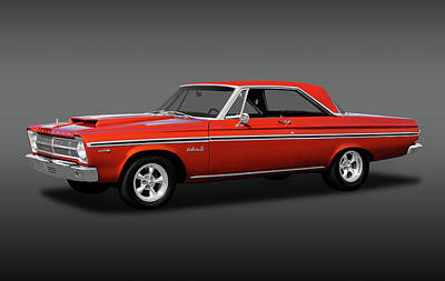 Photograph - 1965 Plymouth Belvedere II Hardtop  -  1965plymouthbelviifa170926 by Frank J Benz