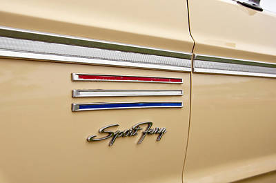 Photograph - 1965 Plymouth Sport Fury by Glenn Gordon
