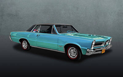 Photograph - 1965 Pontiac Gto -  65pontgto876 by Frank J Benz