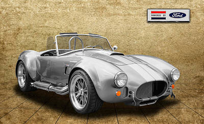 Photograph - 1965 Shelby Cobra - Power By Ford by Frank J Benz