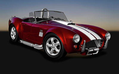 Photograph - 1965 Shelby Cobra Powered By A Ford 427 V8 Engine   -   1965shelby427cobra170196 by Frank J Benz