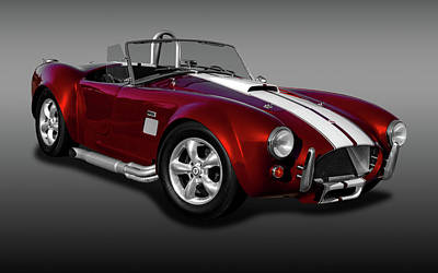 Photograph - 1965 Shelby Cobra Powered By A Ford 427 V8 Engine   -   1965shelby427cobrafa170196 by Frank J Benz