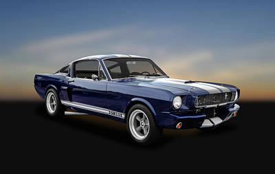 Photograph - 1965 Shelby Ford Mustang Gt 350 Fastback - 65fdmust873 by Frank J Benz