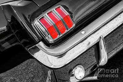 Photograph - 1965 Taillight by Dennis Hedberg