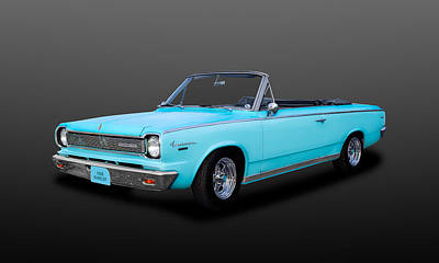 Photograph - 1966 Amc Rambler American 440 Convertible  -  66ram2 by Frank J Benz