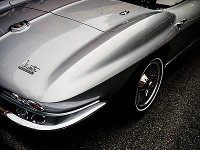 Photograph - 1966 Chevrolet Corvette by M G Whittingham
