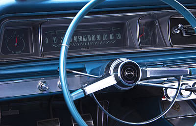 Photograph - 1966 Chevrolet Impala Dash by Glenn Gordon